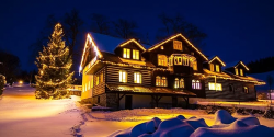 Rodinný pobyt plný zimních radovánek v Rokytnicích nad Jizerou