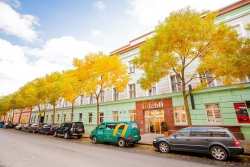 Hotel Adeba v příjemné lokalitě Karlína nabízí ubytování ve 113 moderně zařízených pokojích
